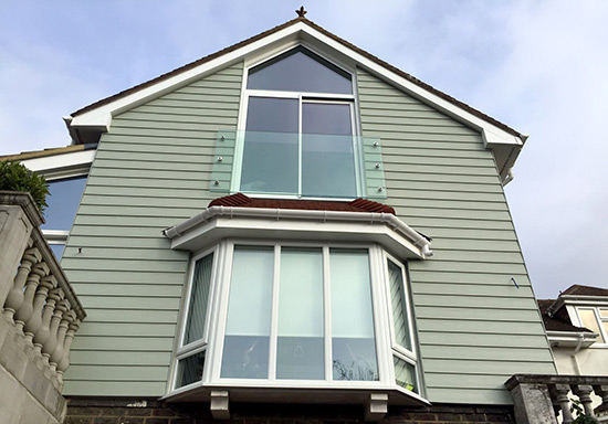 sussex marley cladding Installation